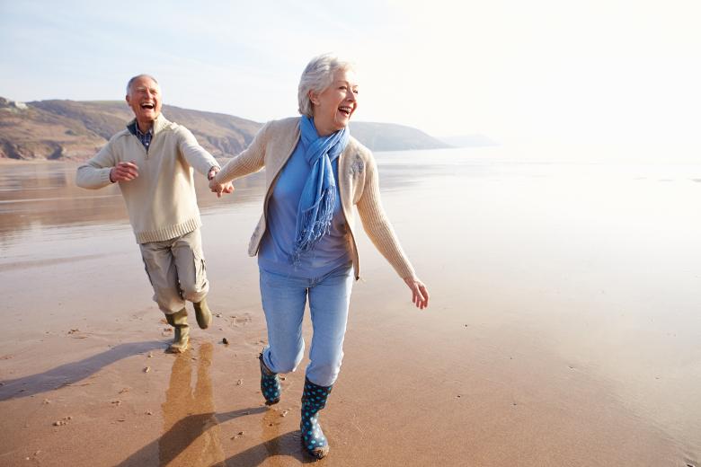 Aktivurlaub für Senioren Küste Niederlande