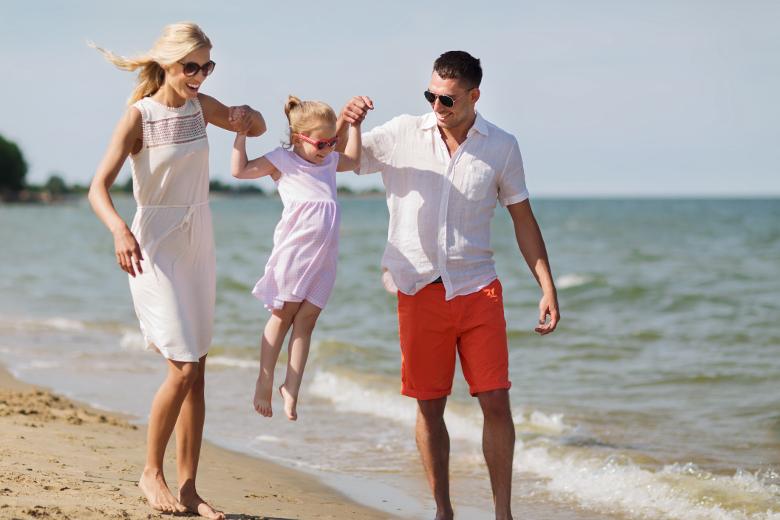 Familienurlaub in Holland am Meer