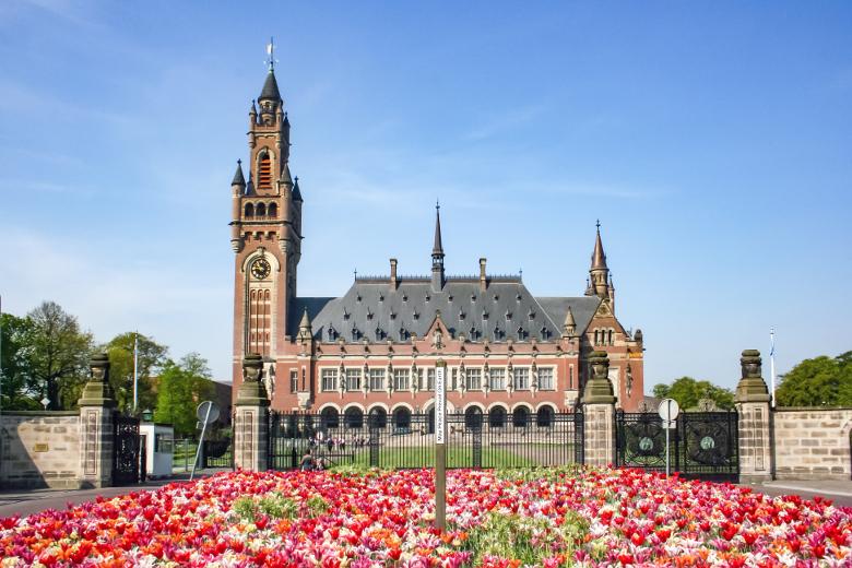 Familienurlaub in Den Haag Friedenspalast