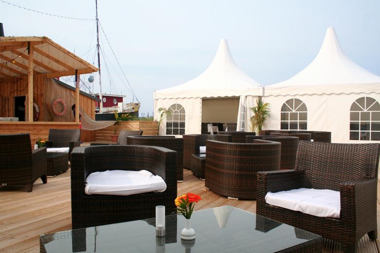 Ostsee Resort Damp Terrasse