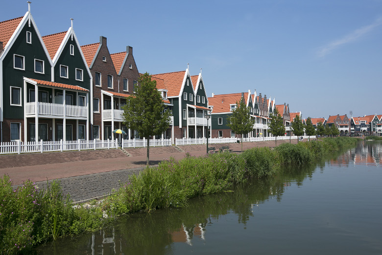 Roompot Marinapark Volendam Außenansicht